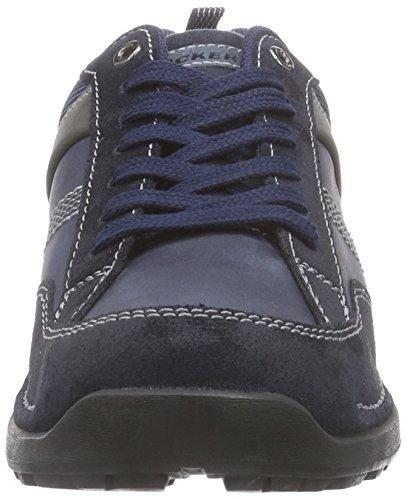 Dockers 37LK007, Brogue stringata uomo Blu (Blau (navy/blau 666))