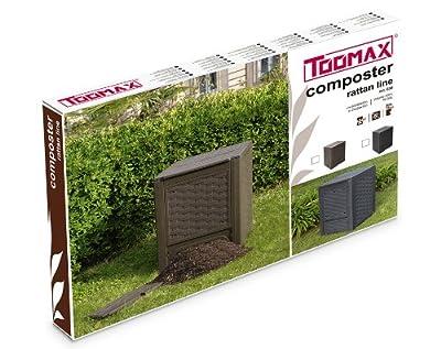 TOOMAXART650B Komposter Rattan Line, braun von TOOMAX bei Du und dein Garten