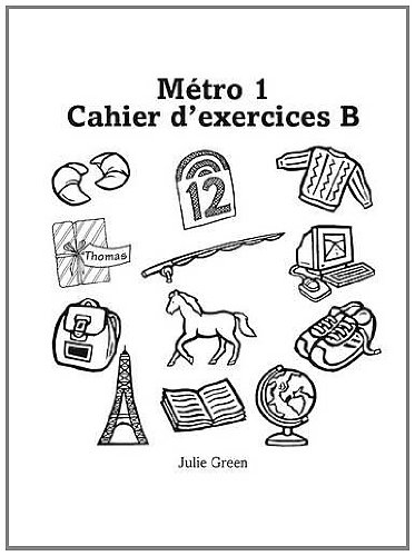 Metro 1 Workbook B Euro Edition (Pack of 8) (Metro for 11-14)