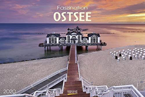Faszination Ostsee 2020: Großer Foto-Wandkalender von der Küste und der Ostsee in Deutschland. PhotoArt Panorama Querformat: 58x39 cm.