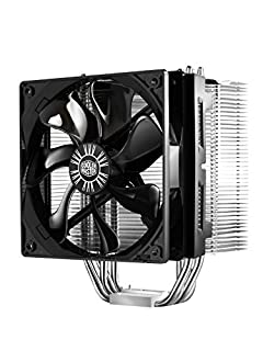 Cooler Master Hyper 412S CPU Air Cooler '4 Heatpipes, 1x 120mm Fan, 3-Pin Connector' RR-H412-13FK-R1 (B00634R3L6) | Amazon price tracker / tracking, Amazon price history charts, Amazon price watches, Amazon price drop alerts