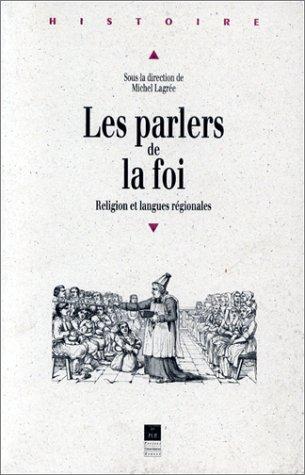 Les parlers de la foi : Religion et langues régionales