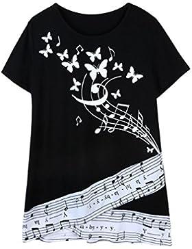 FAMILIZO Camisetas Mujer Manga Corta Camisetas Mujer Verano Blusa Mujer Sport Tops Mujer Verano Camisetas Mujer...