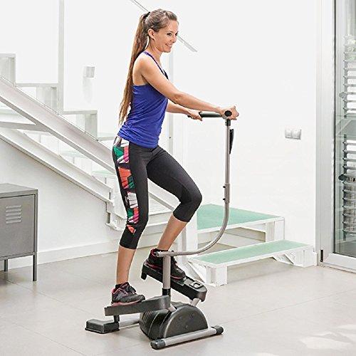 Fitnessgerät, Cardio Twister, Stepper zum Trainieren von Bein-, Po- und Bauchmuskeln, Abstorm Fitness