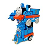 #8: smiles creation 2.4 GHz One Key RC Train Transformation Robot Remote control Car Toy for Kids