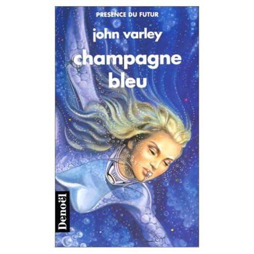 Champagne bleu