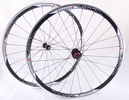 on/Alu Rennrad Laufradsatz schwarz / Mach1 VIA32 / DT Competition 1710 g ()