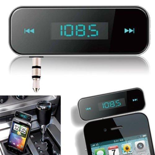 pricewize 3.5mm en voiture FM TRANSMITTEUR Radio adaptateur kit voiture avec Stéréo pour ipod ipad iphone 6s 6 5S 5C 5 5G 4S SAMSUNG galaxsy S4 S3 Note 3 HTC, Tablette PC, MP3/MP4 lecteurs