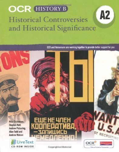 OCR A Level History B: Historical Controversy and Historical Significance 1st (first) Edition by Field, Mr Andrew published by Heinemann (2009)