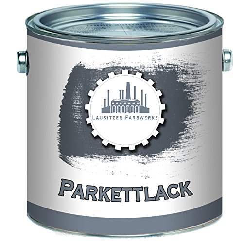 Lausitzer Farbwerke traditioneller Parkettlack in farblos (glänzend/seidenmatt) (1 L, Glänzend)