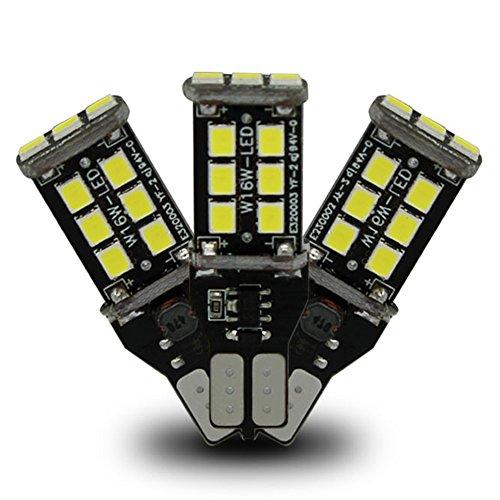 Preisvergleich Produktbild XFAY HX-465(2 Stückx Superhelle) ,T15 921 912 W16W Auto Lampen LED 45-SMD 4014 LED Birnen Backup Licht Rückfahrlicht Xenon-Gelbes Licht