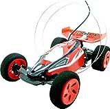 1:32 Stunt-Buggy mit verrückten Tricks in Rot mit Fernbedienung und Li-Po Akku