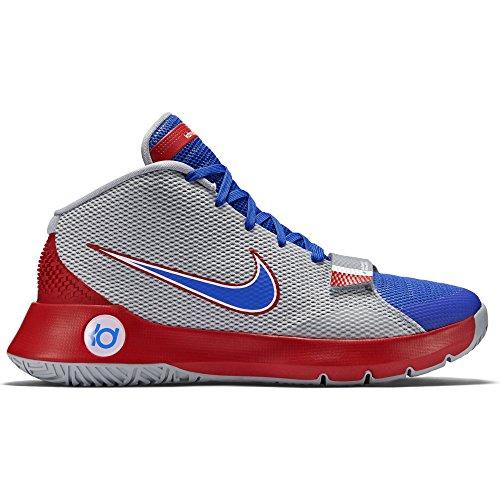 Nike Kd Trey 5 Iii, Scarpe da Basket Uomo Grigio / Blu / Rosso (Wlf Gry / Gm Ryl-Unvrsty Rd-Gm R)