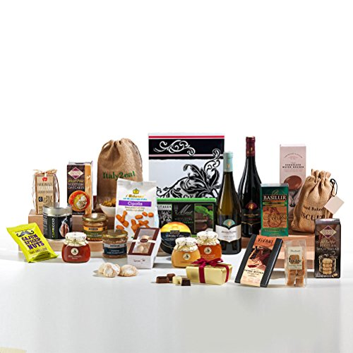 Hay Hampers The Grand Non-Perishable Food and Wine Hamper Box