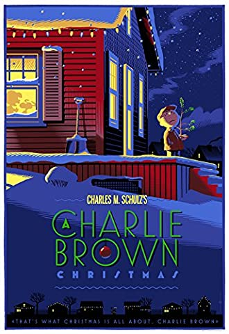 PEANUTS SNOOPY – Charlie Brown Christmas - US Movie Wall Poster Print - 30CM X 43CM Brand New (Snoopy Charlie Brown Christmas)
