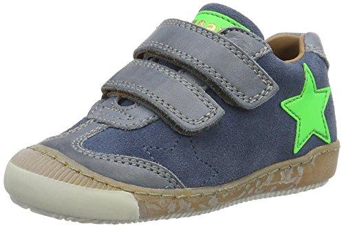 Bisgaard - Klettschuhe, Scarpe da ginnastica Unisex – Bambini Blau (603-2 Jeans)