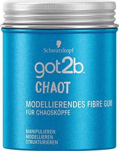 Schwarzkopf got2b Gum chaot modellierendes Fibre, 1er Pack (1 x 100 ml)