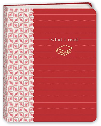What I Read. Mini Journal (Color Red)