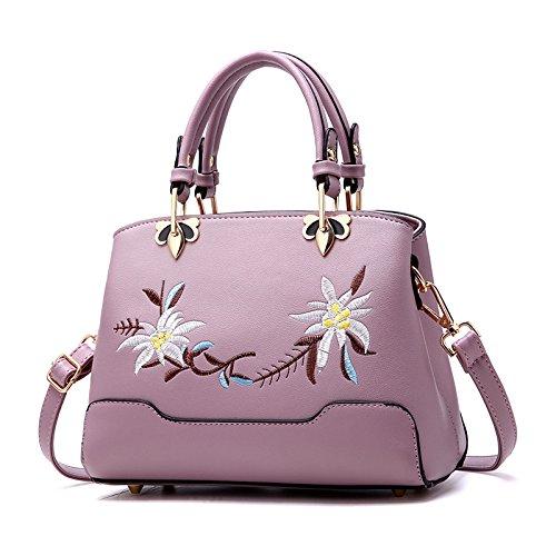 Mefly Nuova Moda Borsetta Rosa Purple taro