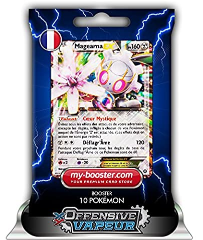 MAGEARNA EX 75/114 160PV XY11 OFFENSIVE VAPEUR - Booster de 10 cartes Pokemon francaises my-booster