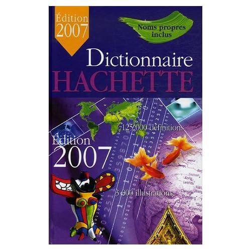Dictionnaire Hachette Encyclopédique