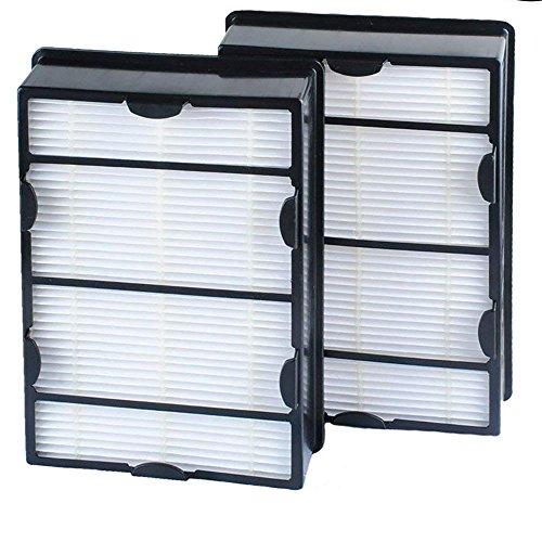 VACFIT True HEPA Air Filter Ersatz für Holmes hrc1hapf600hapf600dm-u2Luftreiniger Filter Befestigung Teil für Bionaire Air Filter Zubehör 2Pack - Hepa-filter-teil