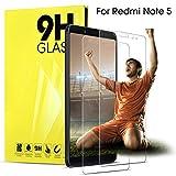 DOSNTO Vetro Temperato Xiaomi Redmi Note 5 Pellicola Protettiva, Pellicola Vetro 5,99'' per Note 5 Protezione Schermo,Ultra Clear Protezione Vetro Protettivo Pellicola Note 5 Trasparente