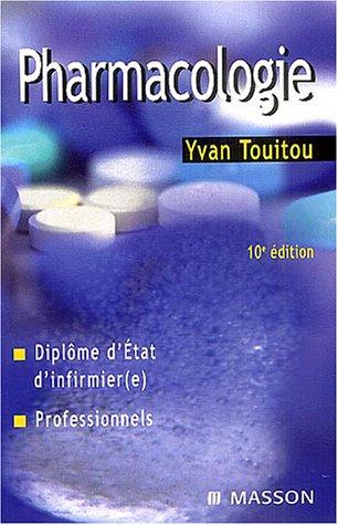 Pharmacologie : Diplme d'Etat d'infirmire, Professionnels