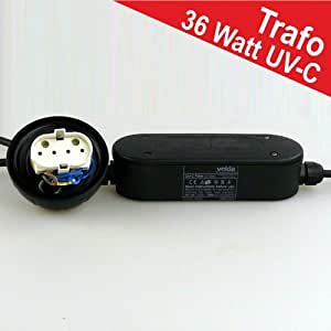 UVC Filter Trafo 36Watt Ersatztrafo Wasserklärer