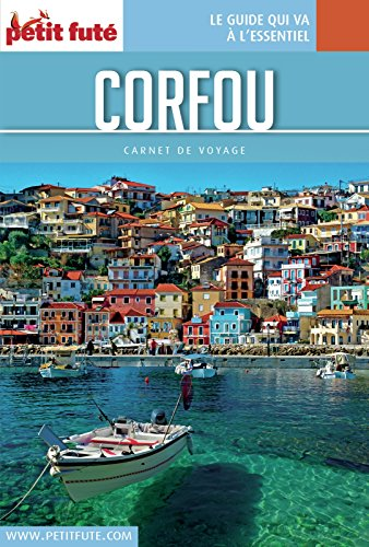 Couverture du livre Corfou / Îles ioniennes 2016/2017 Carnet Petit Futé