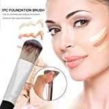 New Arrival Professional Cosmetic Makeup Synthetic Fiber Brush For Face Liquid Foundation
