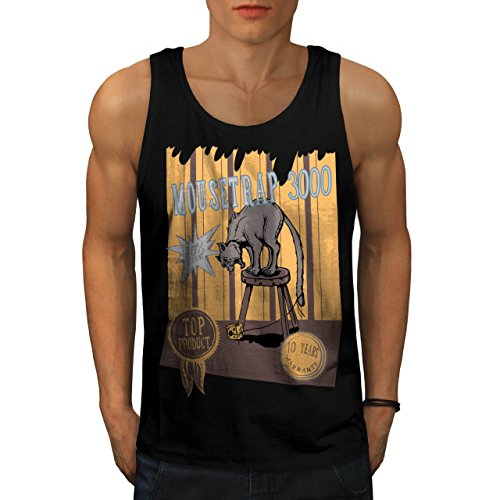 mouse-trap-cat-bait-cheese-lure-men-new-black-m-tank-top-wellcoda