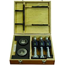Mitutoyo–468–983serie 468Digimatic holtests tres interior micrometre Set, 25Mm-50mm gama