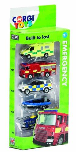 Image of Corgi Toys Emergency Services Vehicle (Pack of 5)