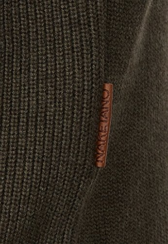 Naketano Male Knit Mortal Men Olive Melange