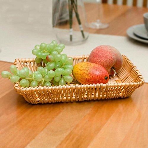 BBYE Ménage Fruit Candy Plate / Bureau Debris Panier De Stockage / Boîte De Rangement De Cuisine / Boîte De Rangement Multi-fonctionnelle