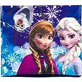 Unbekannt Frozen - Die Eiskönigin Winter-Schlauchschal mit kuschelig, weichem Fleece gefüttert und versteckter Anna-Maske!!