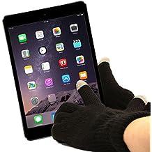 DURAGADGET Guantes Capacitivos Grandes Para Uso Con Apple iPad Air 2 ( Wi-Fi, Wi-Fi + Cellular ) - Disponible En Talla S,M Y L
