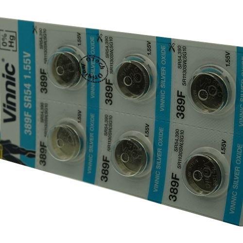 Otech Vinnic Batterien für Swatch New Gent, 10 Stück