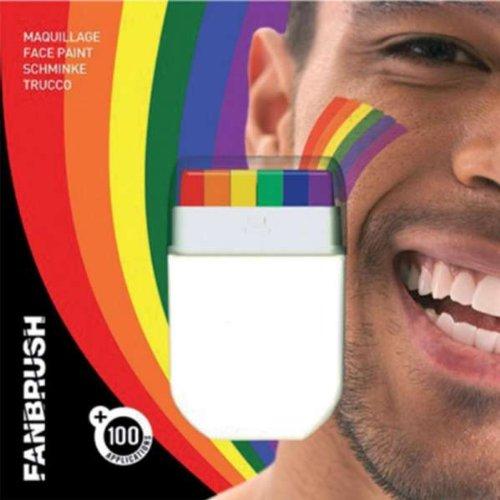 Maquillaje arco iris - Única