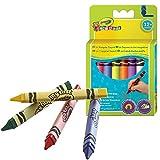 Crayola - 52-016T - Loisir Créatif - Crayon Lavable - Triangulaire - Mini Kids