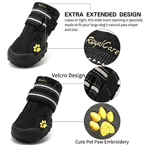 Royalcare Scarpe per Cani Impermeabili 3443cee360e