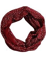Blumen Damen Loop Schal Red Love