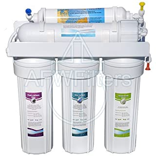 5-stage Zoi Alpha Pure RO Water Filter 50 GPD - Removes Fluoride, Lead, Arsenic, and MORE from Drinking Water by Abundant Flow Water