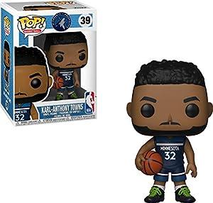 Funko 34453 Pop! Vinilo: NBA: Karl-Anthony Towns, Multi
