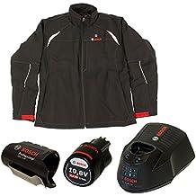 Bosch Professional HEAT+ - Chaqueta de trabajo térmica calefactable para hombre (almohadillas térmicas con batería