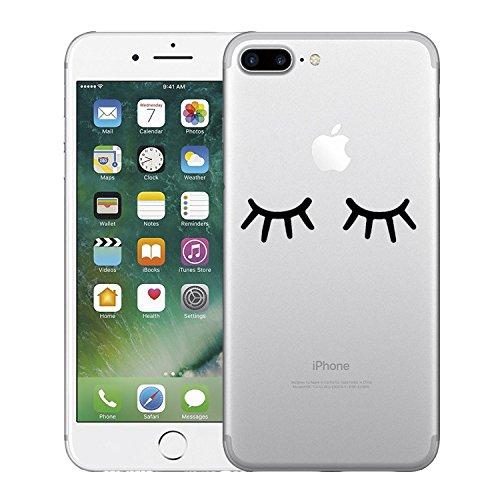 Qissy®TPU Case für iPhone 7 Plus Silikon-Hülle Soft Shell Fall Anti Shock Silikon Anti-Staub-beständig Leichtes Ende mit Glänzende Einzigartiges Persönlichkeitsdesign (iPhone 7 Plus 5,5 Zoll, 3) 4