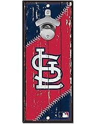 Wincraft MLB St. Louis Cardinals Plaque avec décapsuleur