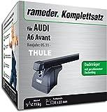 Rameder Komplettsatz, Dachträger SquareBar für Audi A6 Avant (115984-09627-2)