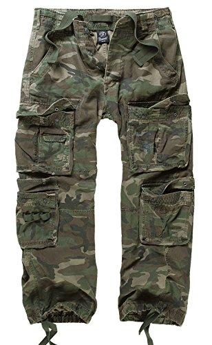 Brandit - Pantalon - Cargo - Uni - Homme woodland